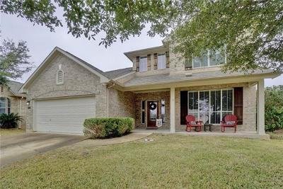 Round Rock Single Family Home For Sale: 3809 Sky Ln
