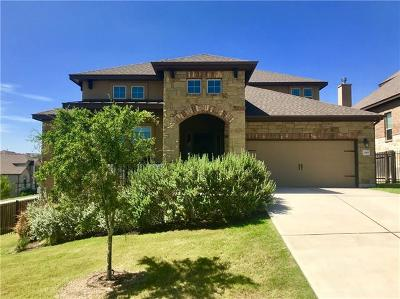 Spicewood Single Family Home For Sale: 22433 Rock Wren Rd