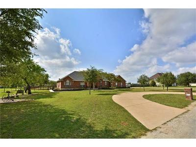 Bastrop County Single Family Home For Sale: 129 Spring Mdw