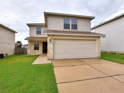 Del Valle Single Family Home For Sale: 12013 Stoney Meadow Dr