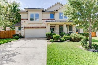 Travis County, Williamson County Single Family Home Pending - Taking Backups: 3809 Iris Cv