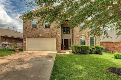 Pflugerville Single Family Home For Sale: 2704 Pedernales Falls Dr