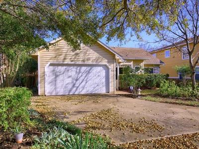 Pflugerville Single Family Home Pending - Taking Backups: 1116 York Castle Dr