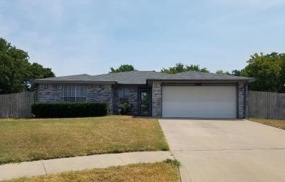 Killeen Single Family Home For Sale: 3007 Blue Ridge Dr