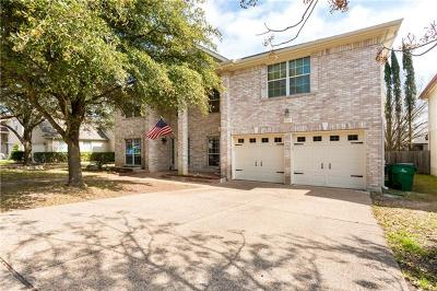 Round Rock Single Family Home Pending - Taking Backups: 17021 Tortoise St