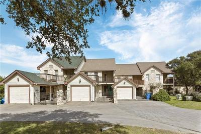 Lago Vista Condo/Townhouse For Sale: 21102 Boggy Ford Rd #3