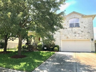 Round Rock Rental For Rent: 2211 Conway Cv