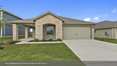 Hutto Single Family Home For Sale: 103 San Bernard Trl