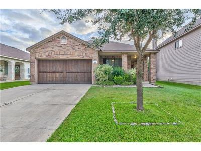 Round Rock Single Family Home For Sale: 1847 Bayland St