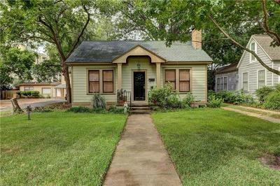 Austin Single Family Home For Sale: 915 E 37th