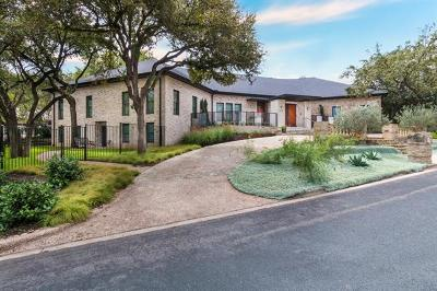 Austin Single Family Home For Sale: 2711 Scenic Dr