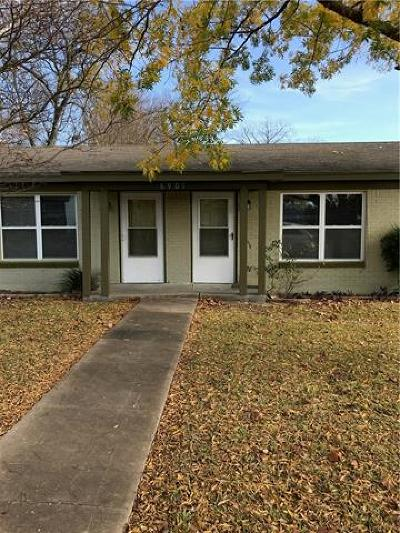 Multi Family Home Pending - Taking Backups: 6901 Guadalupe St