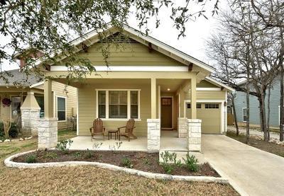 Austin Single Family Home For Sale: 6016 Rutledge Ln