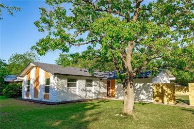 Austin Single Family Home For Sale: 6411 Middleham Pl