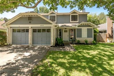 Travis County Single Family Home For Sale: 1003 N Wickfield Ln N