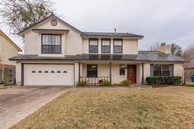 Pflugerville Single Family Home For Sale: 307 Willow Wood Dr