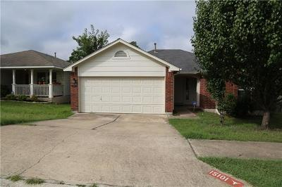 Austin Single Family Home Pending - Taking Backups: 15101 Chamberlain Ct
