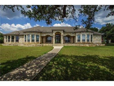 Buda Single Family Home For Sale: 201 Oak Forest Dr