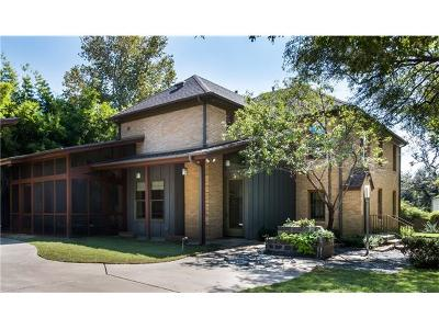 Travis County Single Family Home For Sale: 1501 Hartford Rd