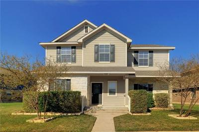 Pflugerville Single Family Home Pending - Taking Backups: 17704 Ice Age Trails St