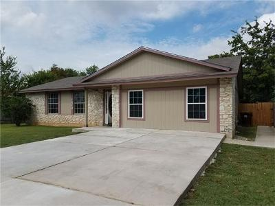 Round Rock Single Family Home For Sale: 1510 Normeadows Cir