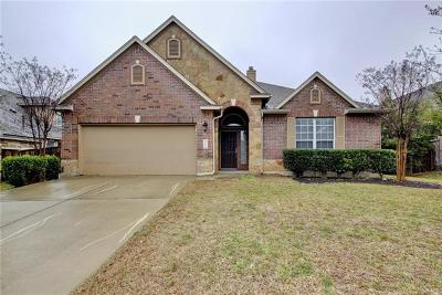 Round Rock Single Family Home For Sale: 4508 Monterosa Ln