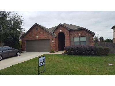 Leander Single Family Home For Sale: 2005 Woodway Dr