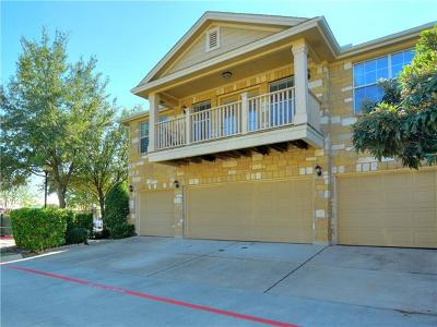 Round Rock Condo/Townhouse For Sale: 16100 S Great Oaks Dr #101