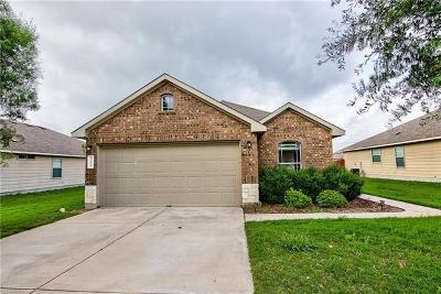 Hutto Single Family Home For Sale: 212 Foxglove Dr