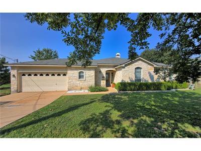 Lago Vista Single Family Home Pending: 21005 Twisting Trl