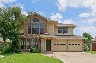 Leander Single Family Home For Sale: 612 Kathleen Ln