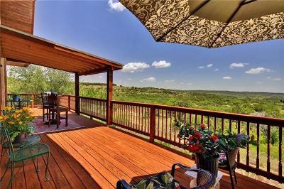 Marble Falls Single Family Home Pending - Taking Backups: 28525 Paradise Manor Dr