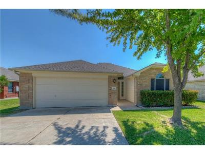 Hutto Single Family Home Pending - Taking Backups: 108 Gainer Dr
