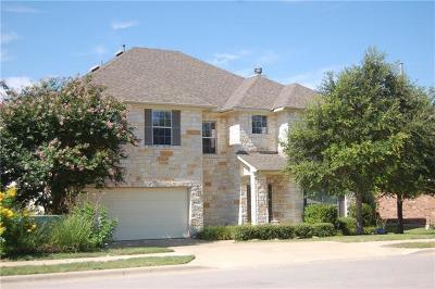 Cedar Park Single Family Home For Sale: 1806 Harvest Bend Ln