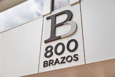 Condo/Townhouse For Sale: 800 Brazos St #902