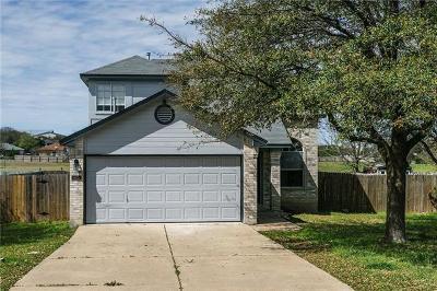 Cedar Park Single Family Home Pending - Taking Backups: 913 Audra St