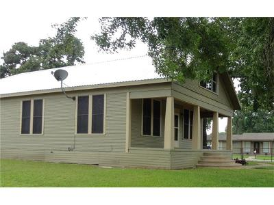 Giddings Single Family Home For Sale: 142 N Montgomery Ave