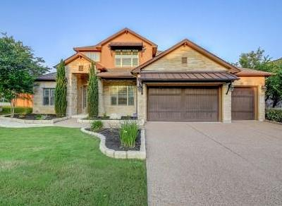 Cedar Park TX Single Family Home For Sale: $799,000