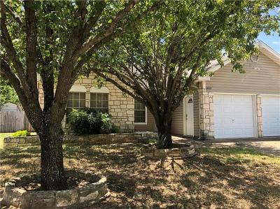 Pflugerville, Round Rock Single Family Home Pending - Taking Backups: 1303 York Castle Dr