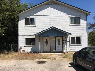 Jonestown Multi Family Home For Sale: 10905 Elm St