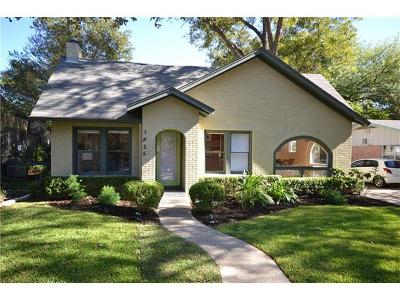Austin Single Family Home For Sale: 3815 Avenue G