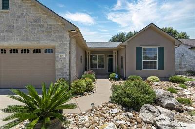 Single Family Home For Sale: 108 Sotol Pass