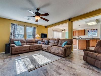 Del Valle Single Family Home Pending - Taking Backups: 12809 Sexson Ridge Cv