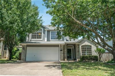 Cedar Park Single Family Home Pending - Taking Backups: 2111 Dayflower Trce