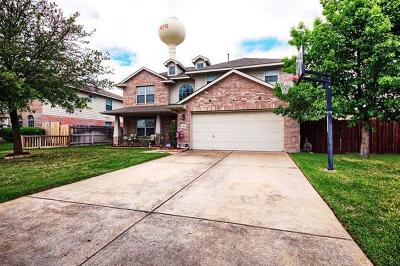 Hutto Single Family Home For Sale: 1202 Delia Chapa Dr