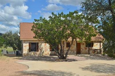 Burnet Single Family Home For Sale: 2100 County Road 140
