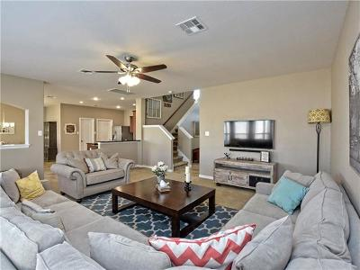 Round Rock Single Family Home For Sale: 1273 Rainbow Parke Dr