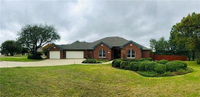 Belton Single Family Home For Sale: 4099 Lago Vista Dr