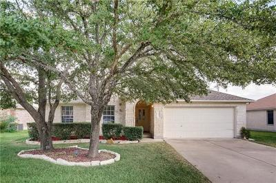 Round Rock Single Family Home For Sale: 1407 Quicksilver St