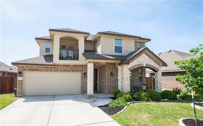 Pflugerville Single Family Home Pending - Taking Backups: 19301 Bridie Path